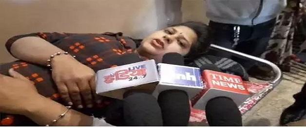 तलाकशुदा पति ने पत्नी को चाकू मारा, प्रेस कॉम्पलेक्स में हुई वारदात
