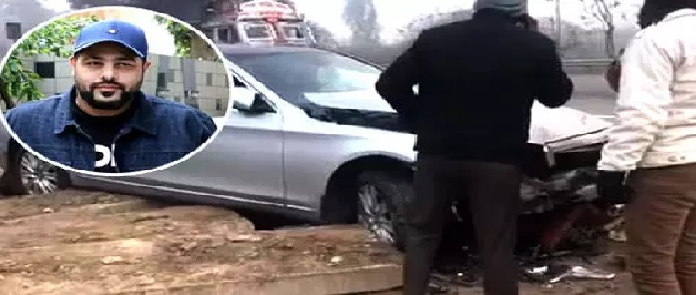 आर्मी ट्रक से गायक बादशाह की गाड़ी टकरायी, हादसे में उड़ गए परखच्चे