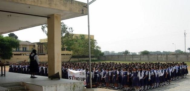 छत्तीसगढ़ नागरिक संघर्ष समिति ने स्कूल परिसर के भीतर निर्माण को लेकर जताया ऐतराज