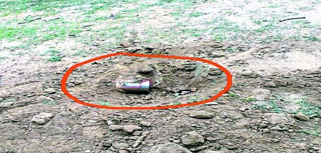पुलिस पार्टी को निशाना बनाने नक्सलियों ने कुंदला मार्ग पर लगाया आईडी बम, बम की चपेट में आई गाय