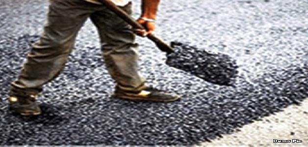 सड़क निर्माण कार्य को देख संसदीय सचिव यूडी मिंज ने अधिकारी और ठेकेदार को लगाई फटकार