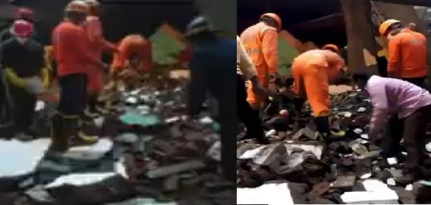 महाराष्ट्र के भिवंडी में 3 मंजिला इमारत ढहने से 10 और लोगों के शव बरामद, मरने वालों की संख्या हुई 35