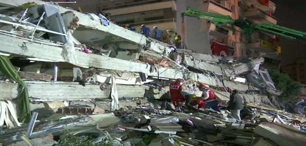 तुर्की में आया शक्तिशाली भूकंप, भूकंप की वजह से 17 लोगों की मौत और 709 घायल