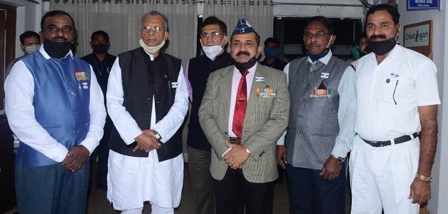सीमा सुरक्षा बल के जवानों की राष्ट्रसेवा और समर्पण को गृहमंत्री ताम्रध्वज साहू ने किया नमन