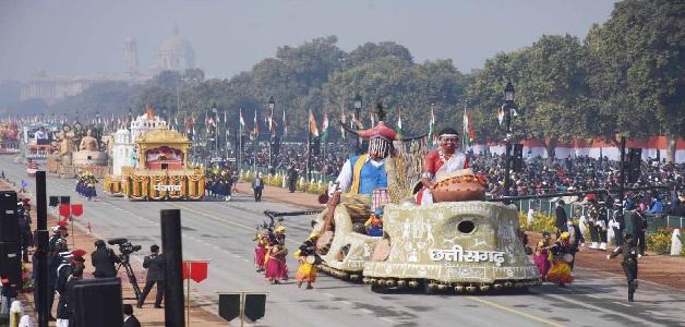 दिल्ली के राजपथ पर छाया छत्तीसगढ़ के वाद्य यंत्रों का जादू, देश के लोगों ने राज्य की झांकी को सराहा