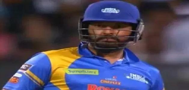 रोड सेफ्टी वर्ल्ड सीरीज में युवराज ने लगाए 8 गेंदों पर 6 छक्के, खेली तूफानी पारी