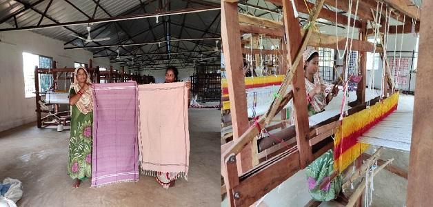 कोण्डागांव के ग्राम बफना की महिलाओं ने धागों के ताने-बाने में ढूंढी स्वावलम्बन की राहें