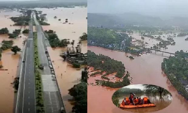 Maharashtra Floods उद्धव सरकार ने जारी की रिपोर्ट, बाढ़ और भारी बारिश की वजह से 164 लोगों की मौत