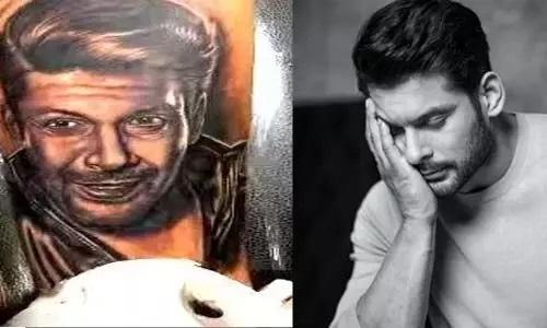शहनाज गिल के भाई ने अपने हाथ पर बनवाया Sidharth Shukla का चेहरा
