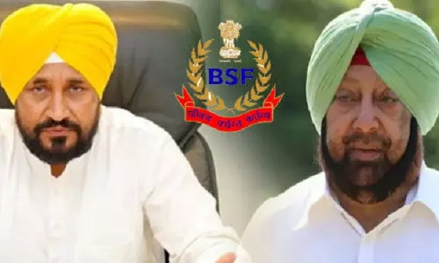 पंजाब में फिर सियासी घमासान शुरू, BSF के अधिकारों को लेकर भिड़े कैप्टन अमरिंदर और CM चन्नी