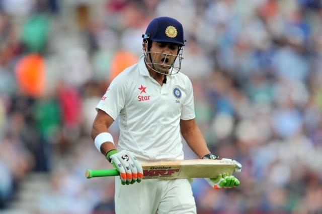 गौतम गंभीर ने लगातार पांच टेस्ट मैचों में शतक जड़े हैं।